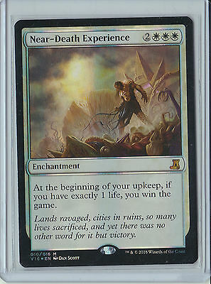 Magic The Gathering From The Vault Lore Near-Death Experience FOIL x1