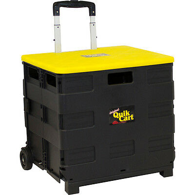 dbest products Original Quik Cart - Black Luggage Accessorie NEW