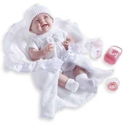 Berenguer * 18786 * La Newborn 15.5 Inch Doll With White Bunting And Accessories
