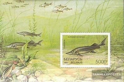 Belarus block15 unmounted mint / never hinged 1997 Fish
