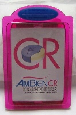 AMBIEN CR DRUG REP LOGO COLLECTIBLE JUMBO CLIP MAGNET New