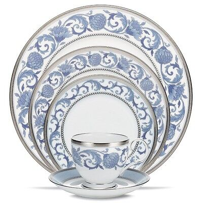 Noritake China Sonnet In Blue 5Pc Place Setting