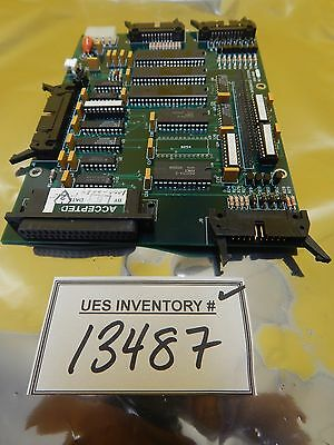 Matrix Integrated Systems 1000-0068 Processor Board PCB System 10 Used Working