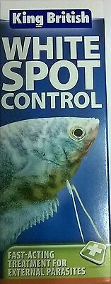 King British Aquarium Treatment White Spot Control 100Ml 5017357022055