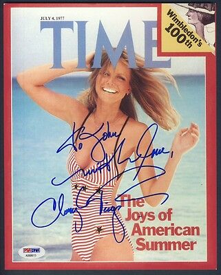Cheryl Tiegs Autographed/Signed 8x10 Photo PSA/DNA AB68613