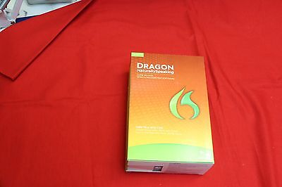 NEW Dragon Naturally Speaking HOME 12 voice recognition software SEALED