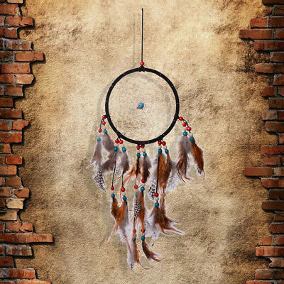 Handmade Dream Catcher With feathers Wall Hanging Decoration Decor #8