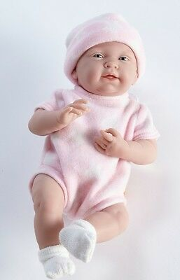 New * Berenguer La Newborn * 14 Inch Real Girl Doll * in Pink Star Romper
