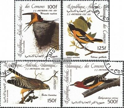 Comoros 726-729 (complete.issue) used 1985 200.Birthday of J.J.