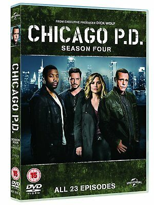 CHICAGO P.D. 4 (2016-2017) Chicago PD Crime Drama TV Season Series R2 DVD not US
