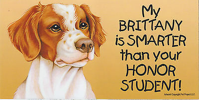 My BRITTANY is SMARTER than your HONOR STUDENT car/fridge MAGNET 4X8