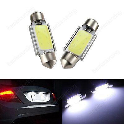 LED License Number Plate Light Lamps Bulb VW Caddy Golf Plus Jetta Passat Polo