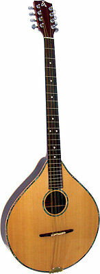 Ashbury STYLE S IRISH BOUZOUKI, Electro Acoustic. All solid wood. From Hobgoblin