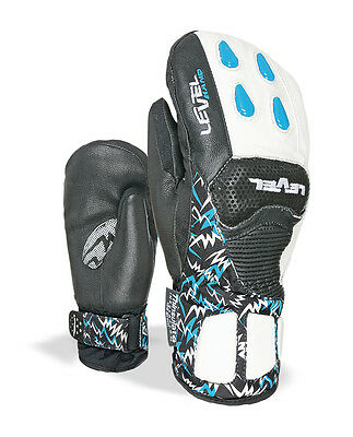 Level Skihandschuhe Fäustling Worldcup JR CF Mitt blau Thinsulate™