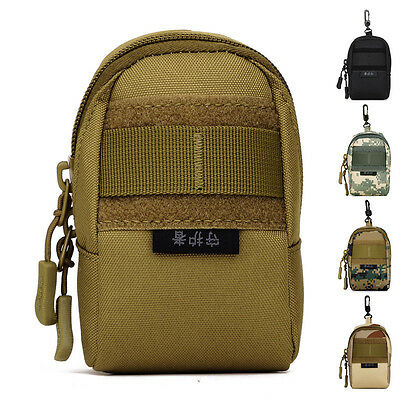 Small Molle Attach Bag Military EDC Equipment Army Gear Tactical Attached Pack