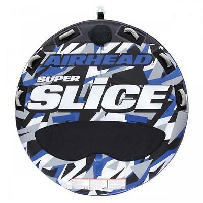 Airhead Super Slice Towable Inflatable Water Ski Deck Ringo Donut Tube 1-3 rider