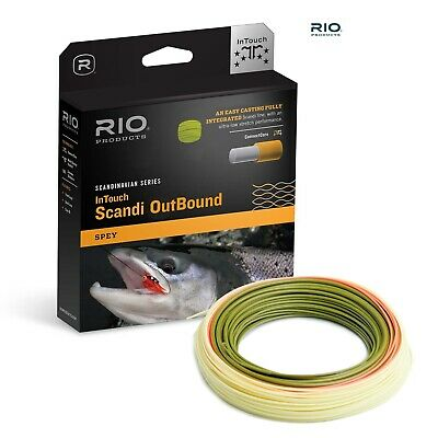 Rio InTouch Scandi Outbound Floating Fly Line * ISO * 2016 Stocks *