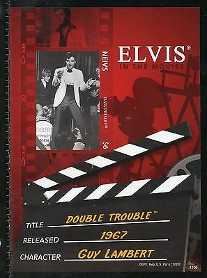 Nevis  Elvis Presley Double Trouble Imperforate Souvenir Sheet Iii  Mint Nh