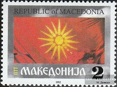 Macedonia 38II mint never hinged mnh 1995 clear brands