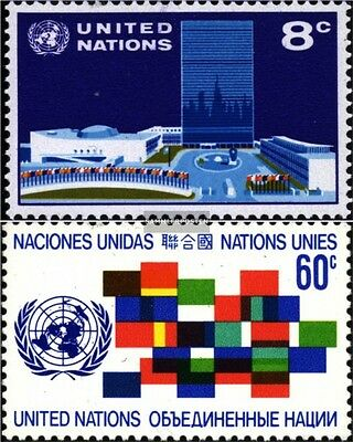 Nations unies - Nouveau York 238-239 neuf 1971 timbres