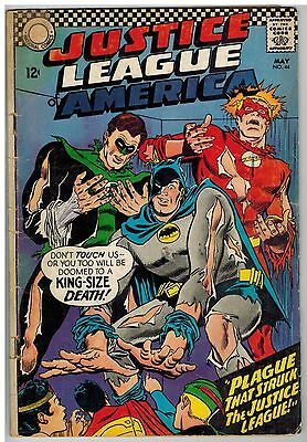 Justice League Of America #44 1966 Dc Silver Age Reader!