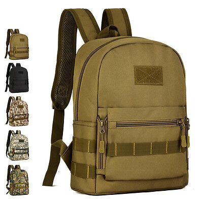 Camouflage Small Backpack Travel Bag Hiking Climbing Hunting Tactical Backpacks