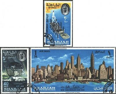 Sharjah 87A-89A neuf 1964 exposition universelle 1964/65