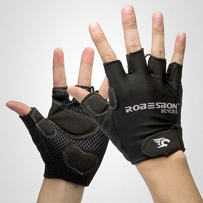Summer Cycling Cycle Bike Bicycle Half Finger GEL Less Breathable GLOVES MITTS