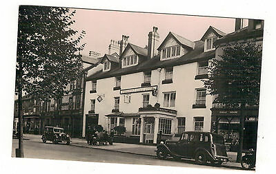 Winstay Hotel. Machynleth. .old Real Photo Postcard