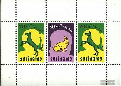 Suriname block20 (complete issue) unmounted mint / never hinged 1977 Pets