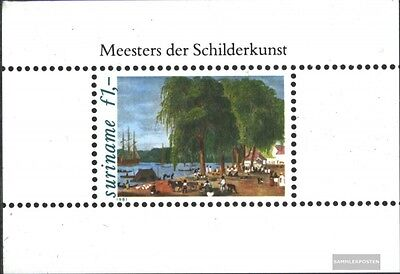 Suriname block31 (complete issue) unmounted mint / never hinged 1981 Paintings