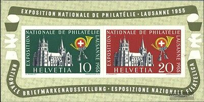 Switzerland block15 (complete issue) unmounted mint / never hinged 1955 NABA Lau