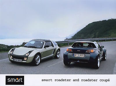 Smart Roadster and Smart Roadster Coupe Press Photograph