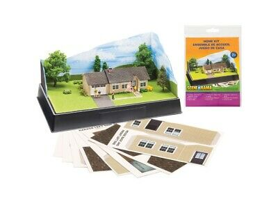 Woodland Scenics SP4244 Scene-A-Rama Home Kit