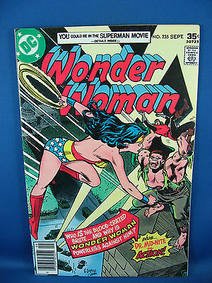 Wonder Woman 235 Vf 1977