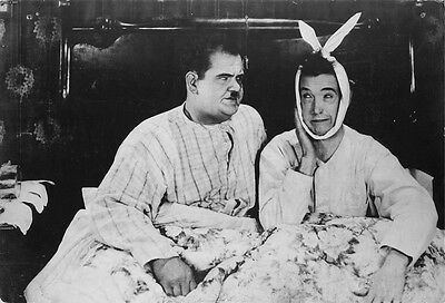 Laurel And Hardy Wall Poster Friends Joey Oliver & Stan Print Sz: A4 A3 A2 & A1