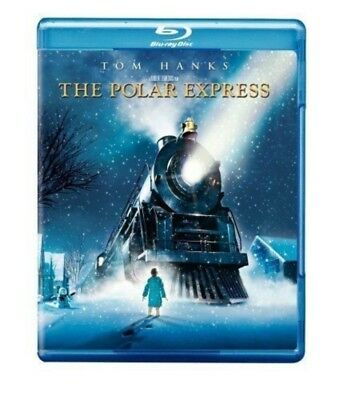 The Polar Express (Blu-ray Disc, 2007) NEW
