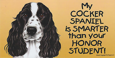 Car Fridge Dog Magnet 4x8 NEW My WEIMARANER is SMARTER than your Honor Student