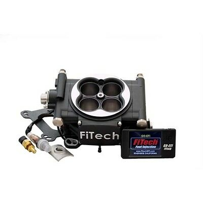 FiTech 30002 Go EFI 600 HP Self-Tuning Fuel Injection System, Black
