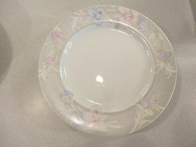 "Set Of 7 Bread Butter Dessert Plates  ""Happiness"" By Crescent China Ranmaru"