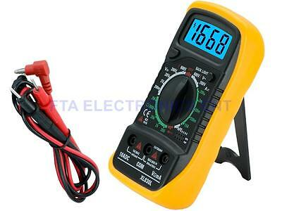 Digital LCD Multimeter Voltmeter OHM-Meter AMP-Meter Volt Meter Bright Display