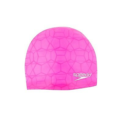 New Womens Speedo Speed It Up Silicone Cap - Elastomeric Fit