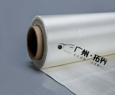 Thick 0.2mm to 3mm Glass Fiber High Temperature Heat Fire Proof Fabric Mat #N00H
