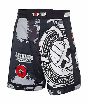 "Top Ten- MMA-Shorts ""Vikings"". S-XXL. Muay Thai. Kickboxen. MMA. Training."