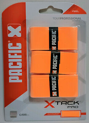 Pacific X Tack Pro orange, 3er Pack, Overgrip Xtack Pro, Griffband