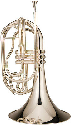 Ravel RMF202S Marching French Horn, Silver-Plated
