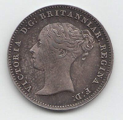 1838 Silver Threepence 3d - Victoria