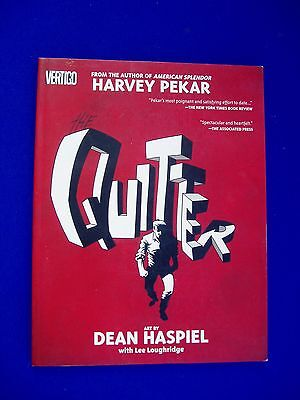 Harvey Pekar: Quitter. VFN.