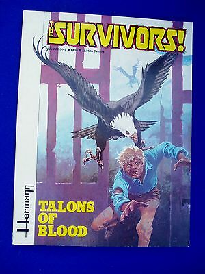 The Survivors vol 1 Talons of Blood, Herman. 1st edn. (1982). Fantagraphics GN,