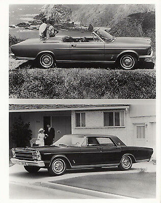 Ford Convertible & Four Door Saloon Photograph.